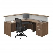 Borders Reception Mod Walnut