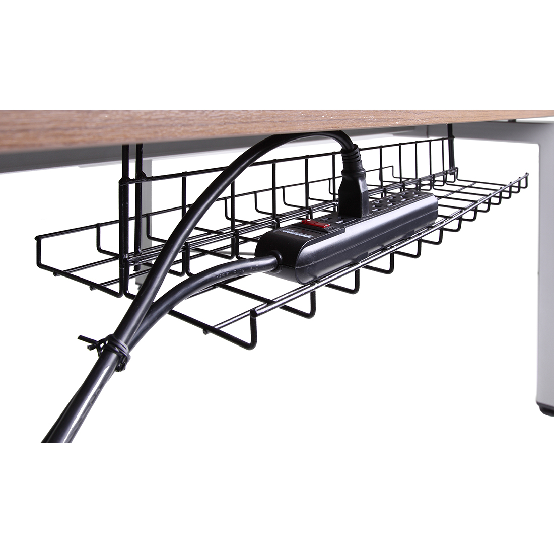 27 Awesome Office Desks With Cable Management Yvotube Com